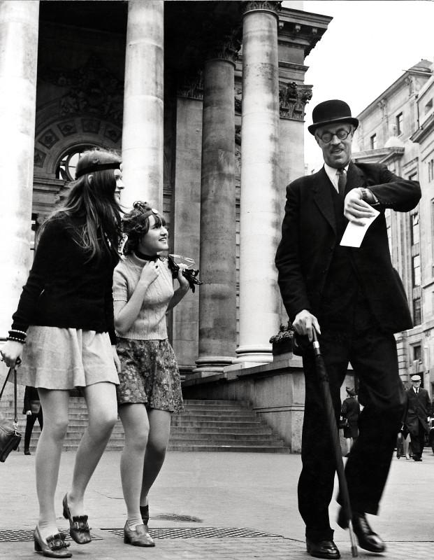 Frank Habicht, TIME GENTLEMEN PLEASE: LONDON STOCK EXCHANGE, C 1960