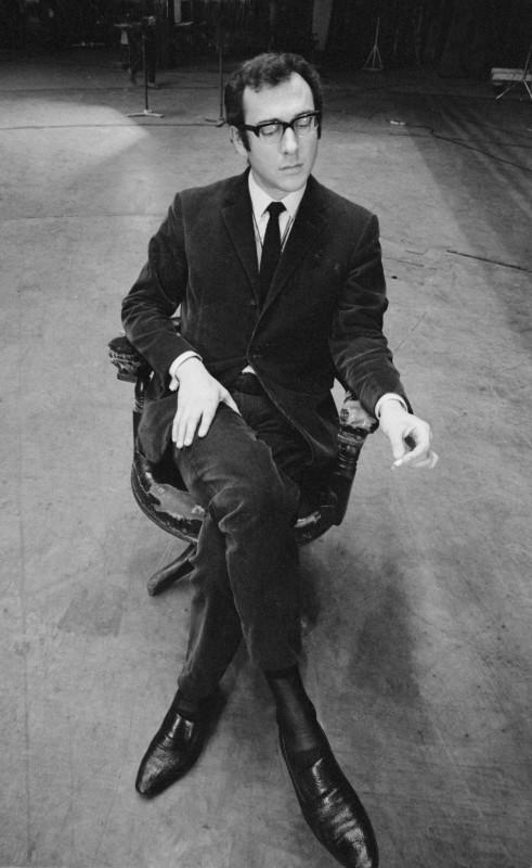 Jurgen Schadeberg, HAROLD PINTER, LONDON, 1972