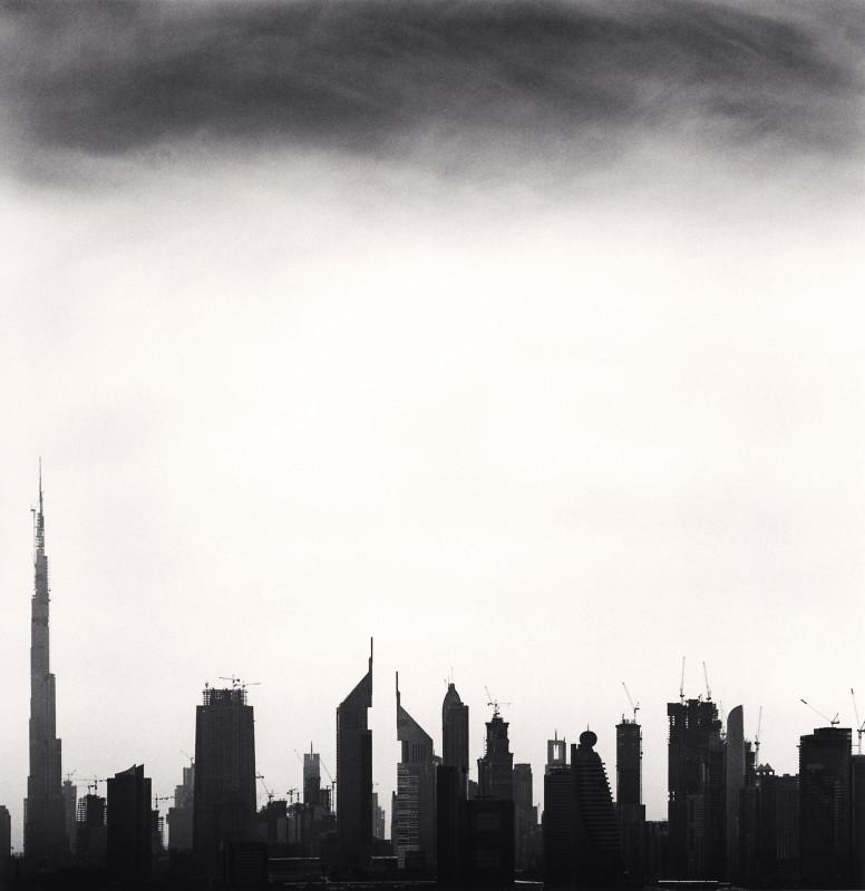 Michael Kenna, SKYLINE, STUDY 3, DUBAI, UNITED ARAB EMIRATES, 2009