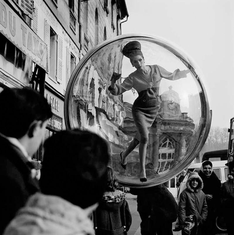 MELVIN SOKOLSKY, DU TAXI, SIMONE D'AILLENCOURT, PARIS, 1963