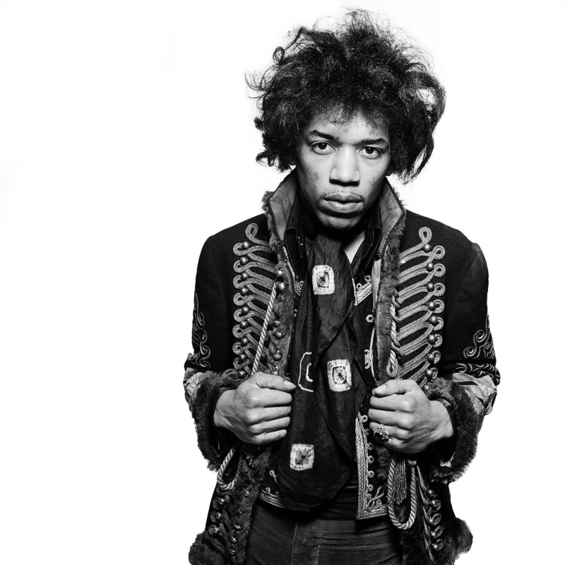 Gered Mankowitz, CLASSIC JIMI II, MASON'S YARD, LONDON, 1967