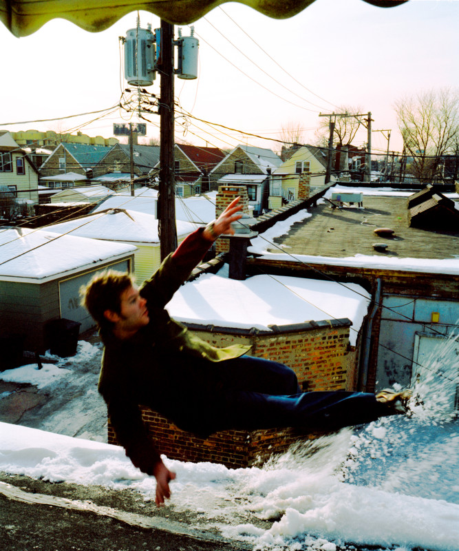 Kerry Skarbakka, WINTER ROOF, FROM THE SERIES 'THE STRUGGLE TO RIGHT ONESELF', 2003