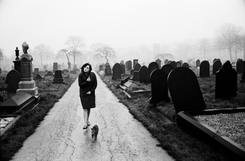 John Bulmer, GRAVEYARD, BARNSLEY, 1964