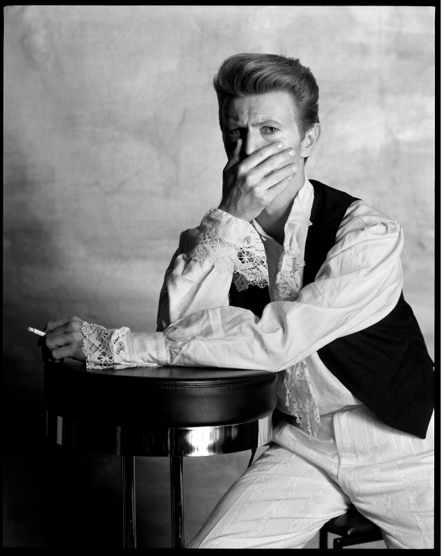 TONY MCGEE, DAVID BOWIE IN CONVERSATION WITH THE PHOTOGRAPHER TONY MCGEE, 1990