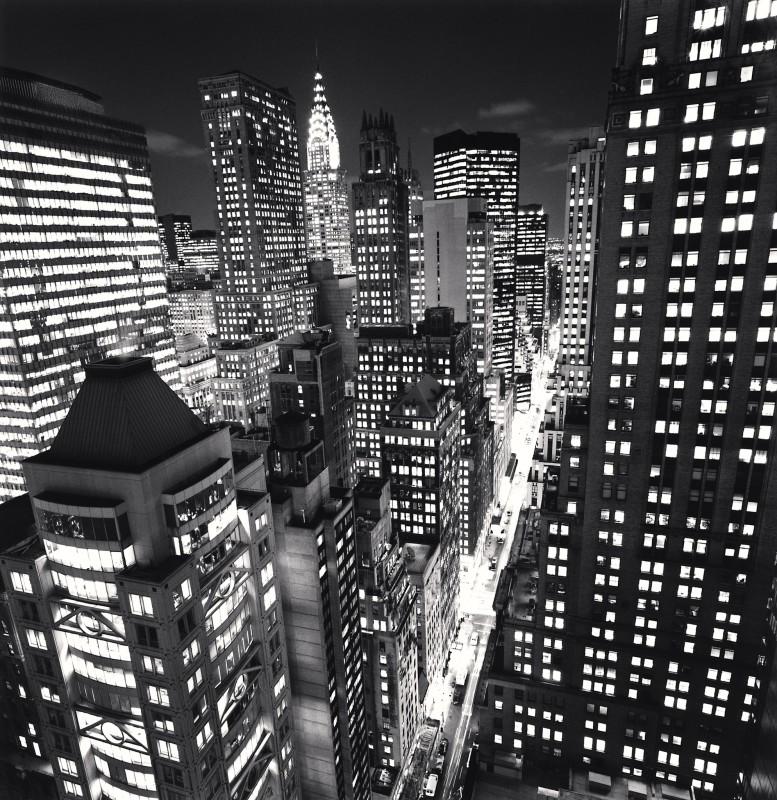Michael Kenna, EAST 40TH STREET, NEW YORK, USA, 2006