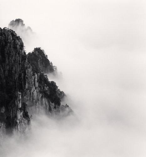 Michael Kenna, HUANGSHAN MOUNTAINS STUDY 6, ANHUI, CHINA, 2008