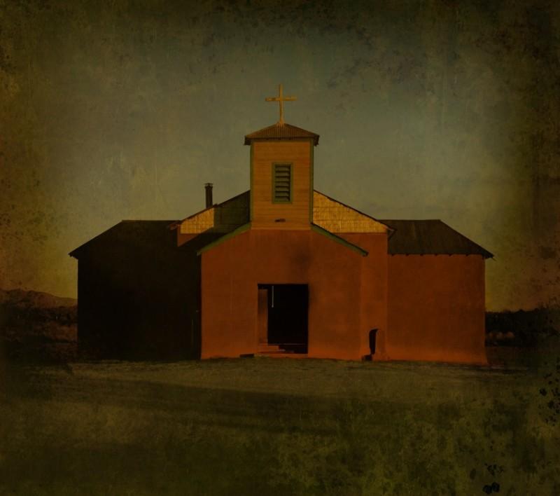 Jack Spencer, RED CHURCH, CASA ROJAS, NEW MEXICO, 2008