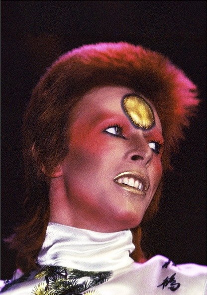 Mick Rock, BOWIE PERFORMING AT EARLS COURT, LONDON, 1973