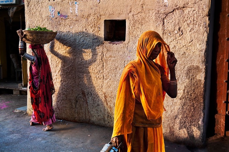 Steve McCurry, RAJASTHAN SHADOWS, RAJASTHAN, INDIA, 2009