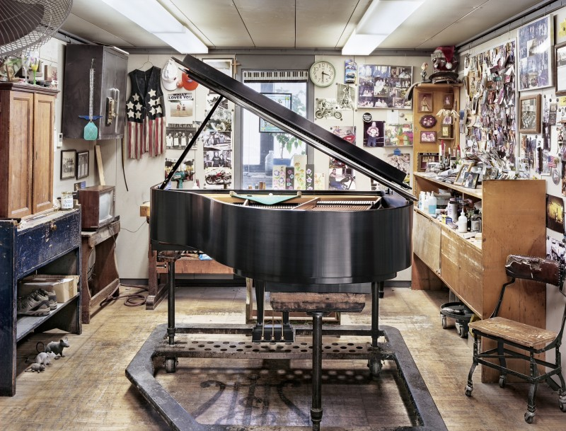 Christopher Payne, Wally's World, (Final Tone Regulation), Steinway & Sons Piano Factory, Astoria, NY, From The Making Steinway Series, 2012