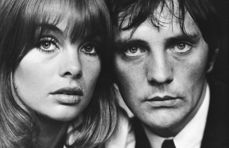 Terry O'Neill, JEAN SHRIMPTON & TERENCE STAMP, LONDON, 1963