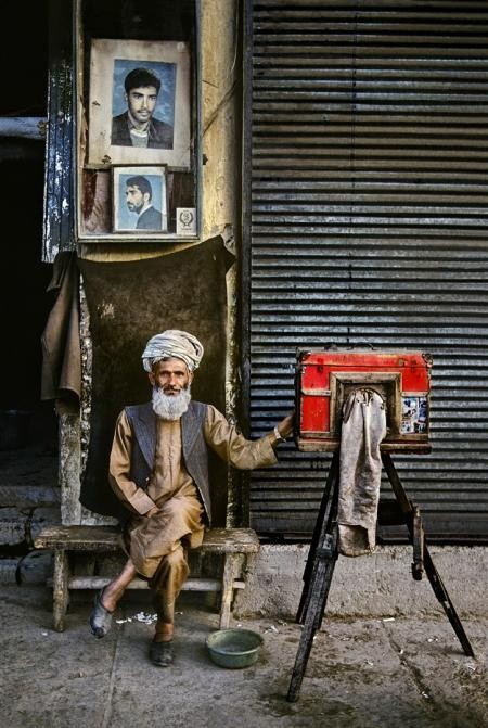 Steve McCurry, PORTRAIT PHOTOGRAPHER, 1992