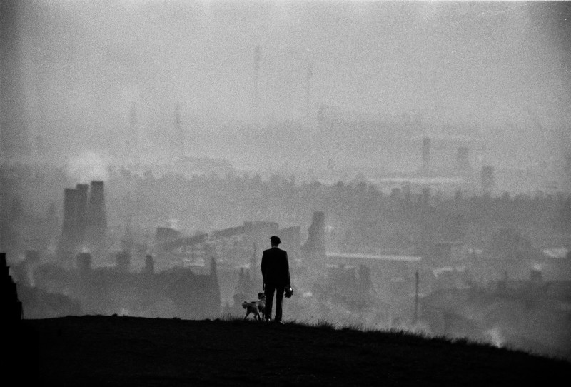 John Bulmer, VIEW OVER THE POTTERIES, STOKE ON TRENT, 1963