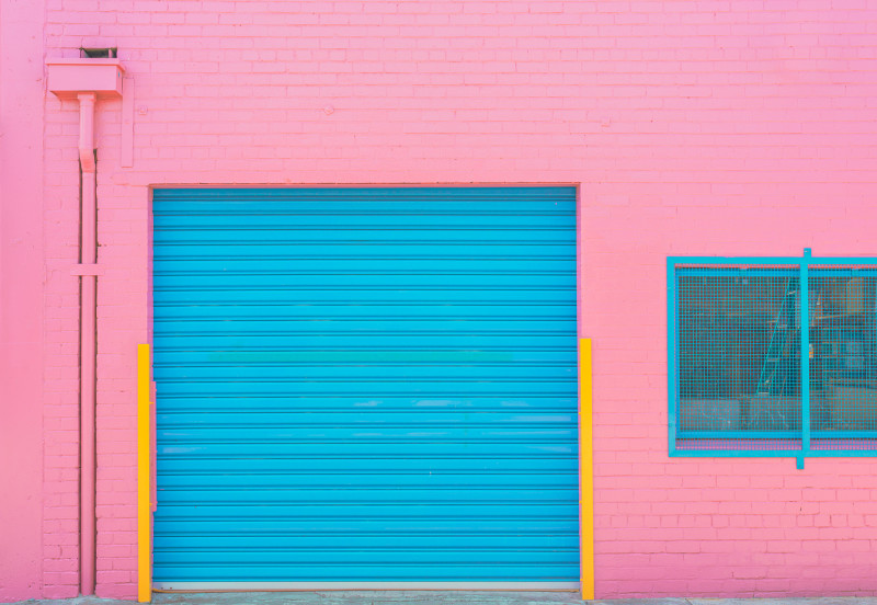BEN THOMAS, CHROMA II, A TOUCH OF PINK, MELBOURNE, AUSTRALIA, 2016
