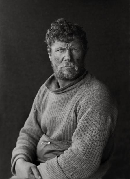 Herbert Ponting, PATRICK KEOHANE ON RETURN FROM THE BARRIER, 29 JANUARY 1912