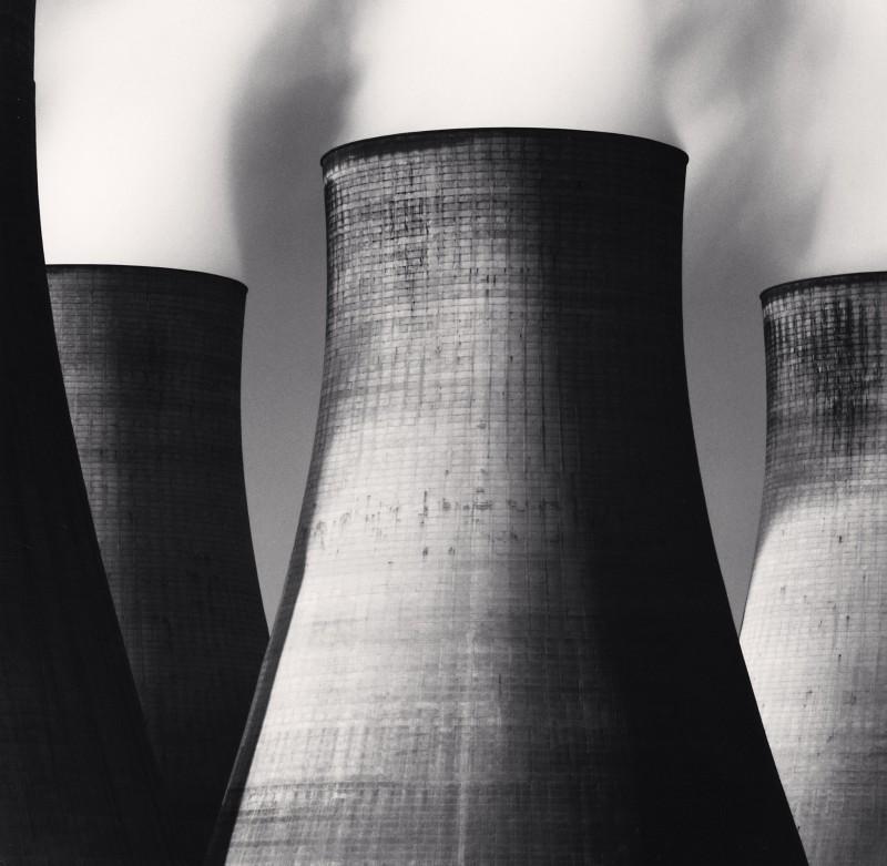 Michael Kenna, RATCLIFFE POWER STATION, STUDY 46, NOTTINGHAMSHIRE, ENGLAND, 2003