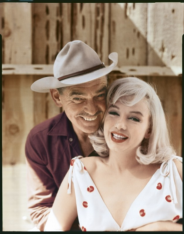 Elliott Erwitt, CLARK GABLE AND MARILYN MONROE, RENO, NEVADA, 1960
