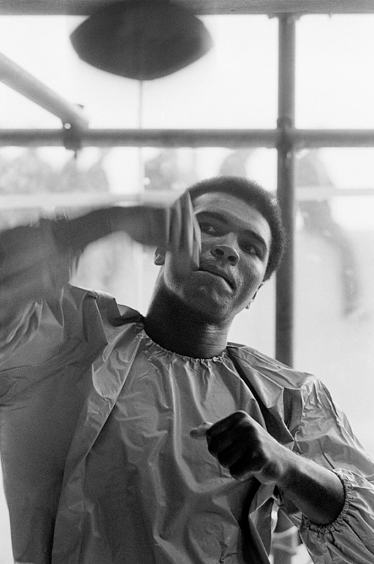 Terry O'Neill, MUHAMMAD ALI TRAINING BEFORE HIS FIGHT WITH ALVIN LEWIS, DUBLIN, 1972