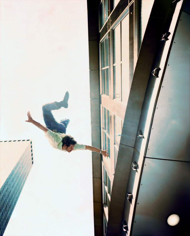 Kerry Skarbakka, FREE FALL, FROM THE SERIES 'LIFE GOES ON', 2005