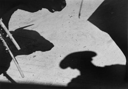 Lucien Clergue, LES OMBRES DE LA MORT, LUNEL, 1963