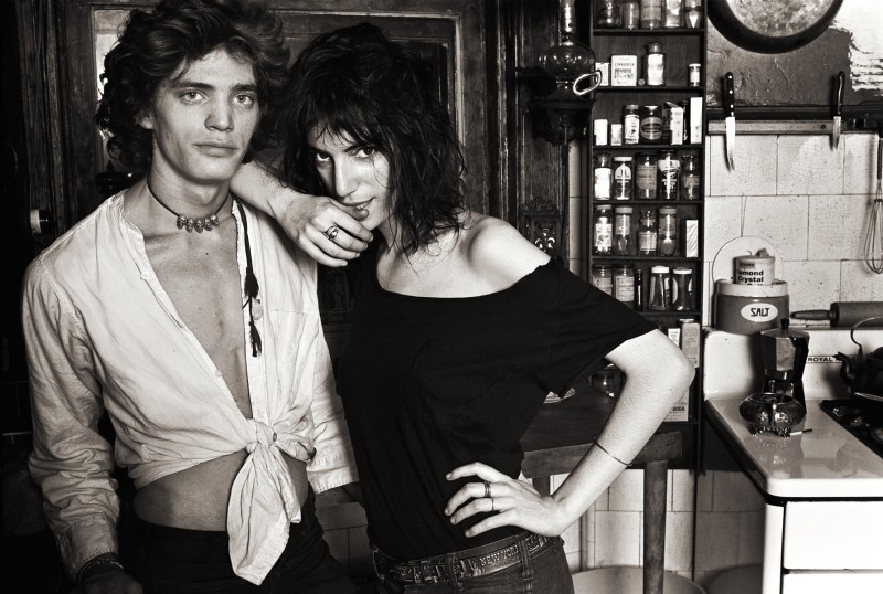NORMAN SEEFF, ROBERT MAPPLETHORPE AND PATTI SMITH II, NEW YORK, 1969