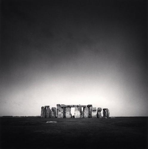 Michael Kenna, STONEHENGE, WILTSHIRE, ENGLAND, 1990