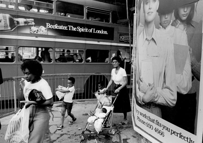 Jurgen Schadeberg, HACKNEY CORNER, LONDON, 1979
