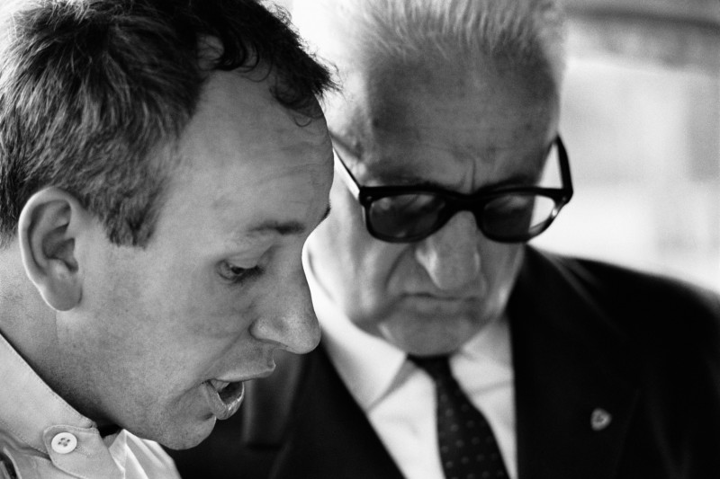 Jesse Alexander, SURTEES WITH ENZO FERRARI, MONZA, ITALY, 1964