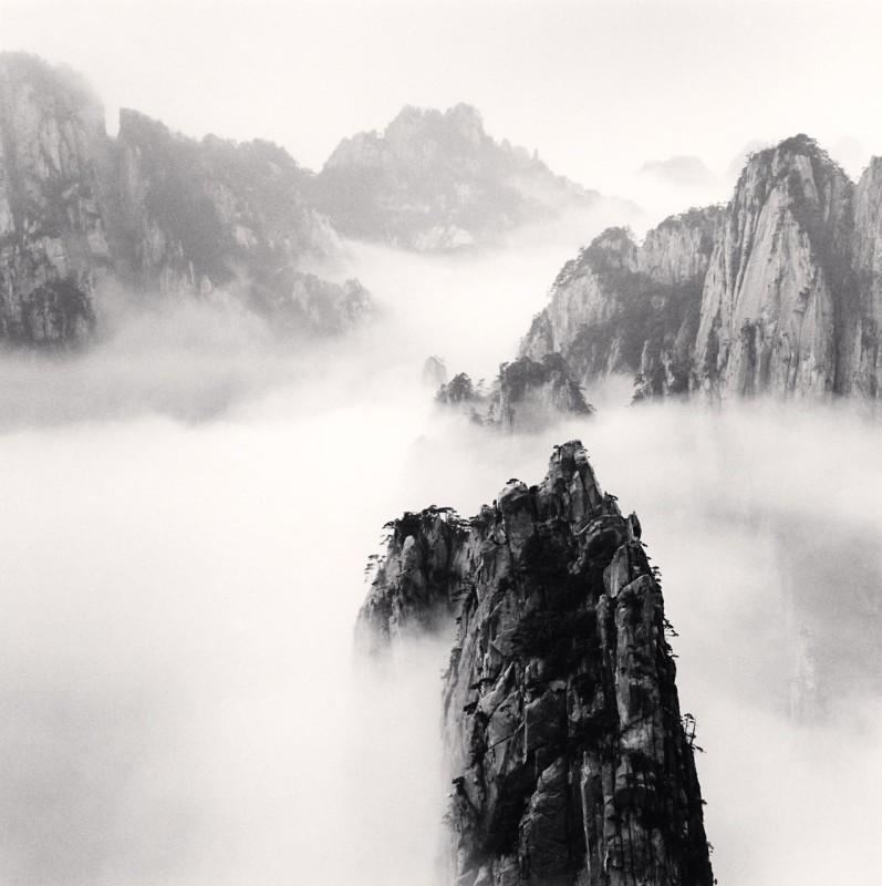Michael Kenna, HUANGSHAN MOUNTAINS STUDY 47, ANHUI, CHINA, 2008