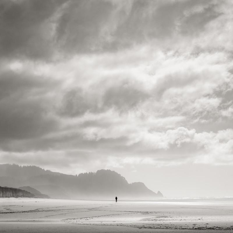 Jeffrey Conley, BEACH WALKER, OREGON, 2015