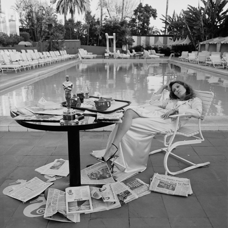 Terry O'Neill, FAYE DUNAWAY, LOS ANGELES, 1976