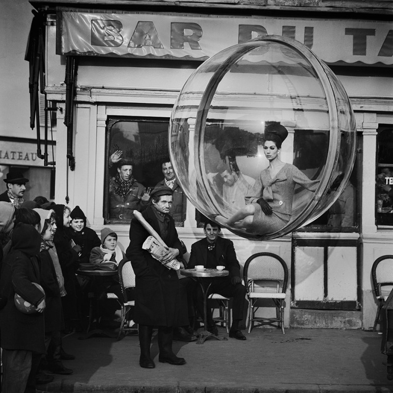 MELVIN SOKOLSKY, BAR DU BAGUETTE, PARIS, 1963