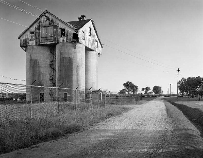Christopher Payne, Farm Silo, Cherry State Hospital, Goldsboro NC, From The Asylum Series, 2007