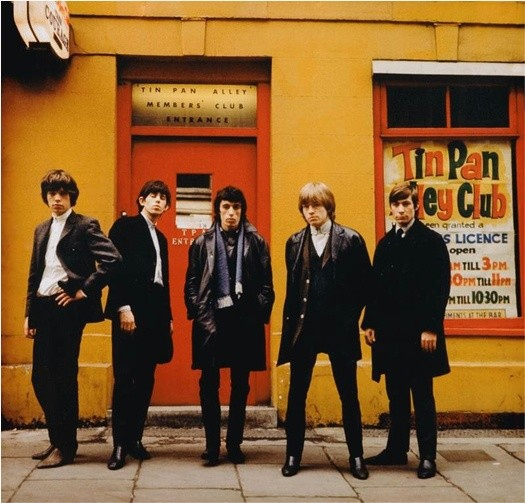 Terry O'Neill, THE ROLLING STONES, TIN PAN ALLEY, LONDON, 1964