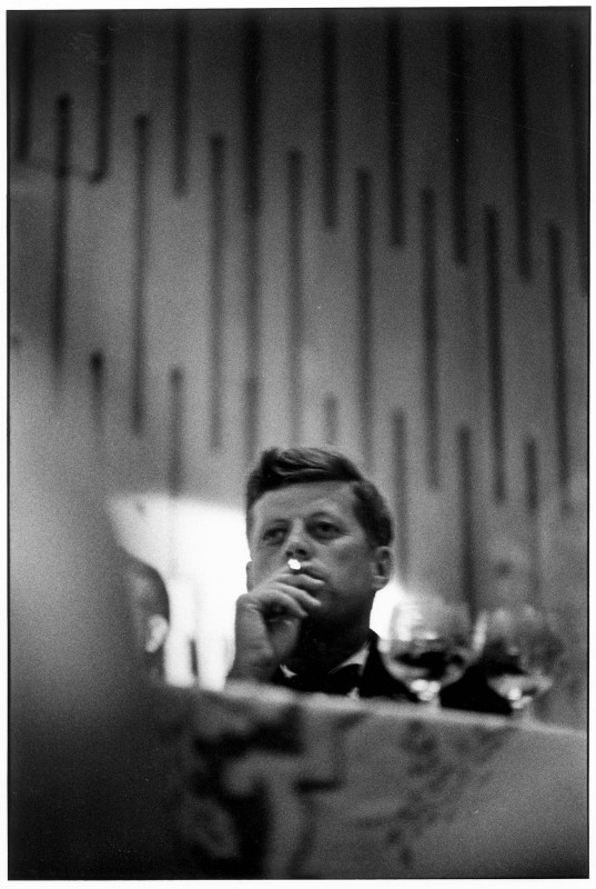 Elliott Erwitt, JOHN F. KENNEDY, LOS ANGELES, CALIFORNIA, 1960