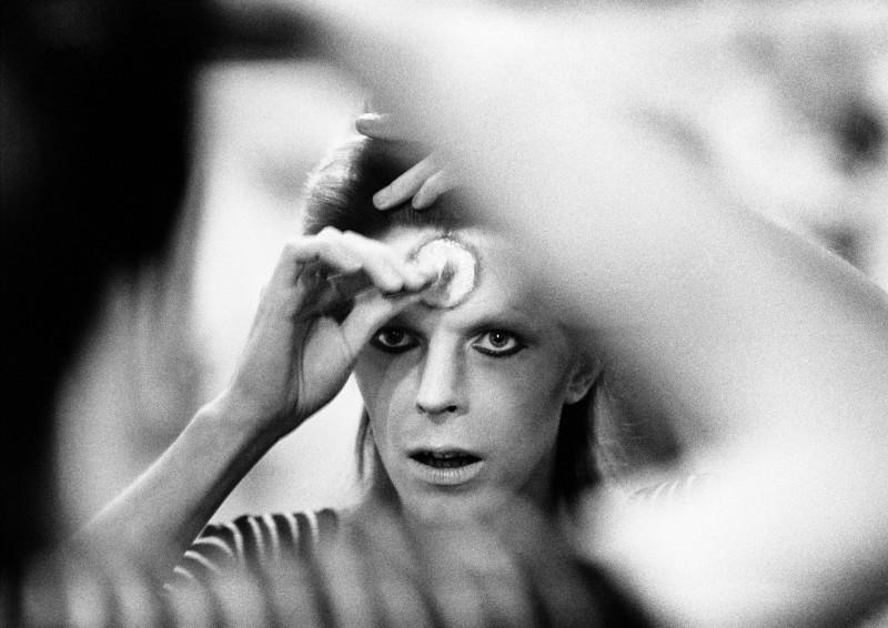 Mick Rock, DAVID BOWIE, MAKE UP, 1973