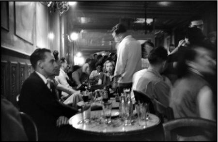 Elliott Erwitt, LEFT BANK CAFE, PARIS, 1951