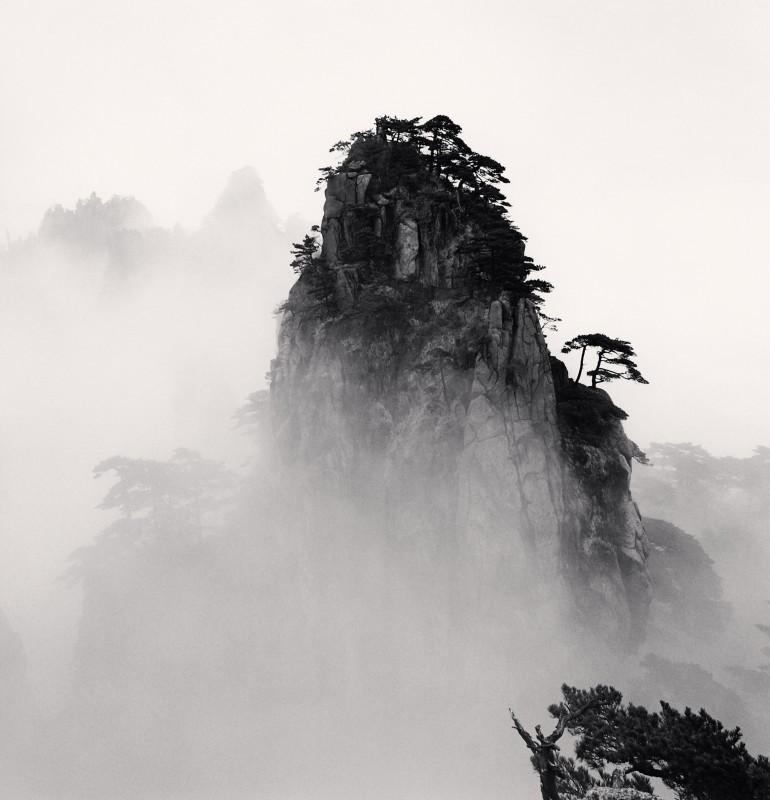 Michael Kenna, HUANGSHAN MOUNTAINS, STUDY NO 11, ANHUI, CHINA, 2008
