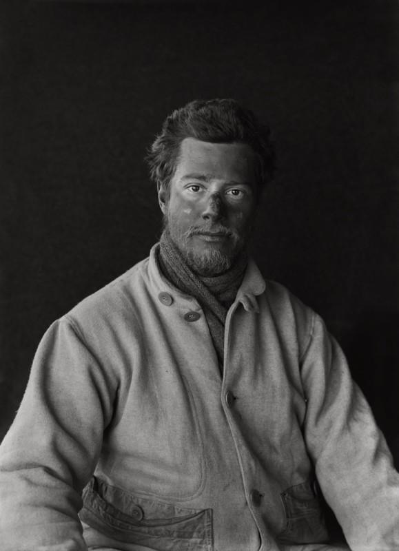 Herbert Ponting, APSLEY CHERRY-GARRARD ON RETURN FROM THE BARRIER, 29 JANUARY 1912