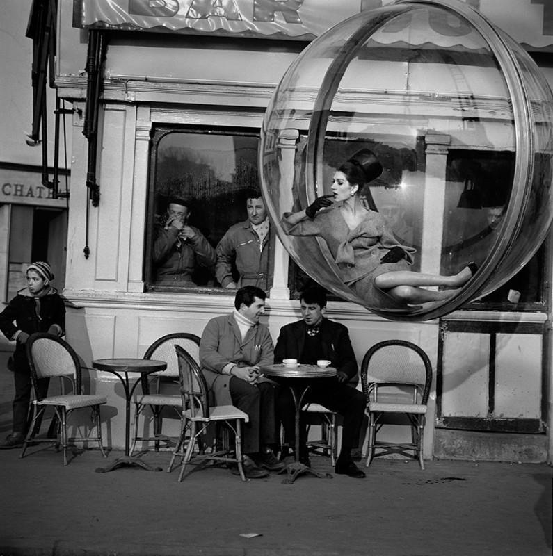 MELVIN SOKOLSKY, BAR DU TAXI, PARIS, 1963