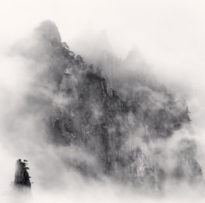 Michael Kenna, HUANGSHAN MOUNTAINS, STUDY NO 1, ANHUI, CHINA, 2008