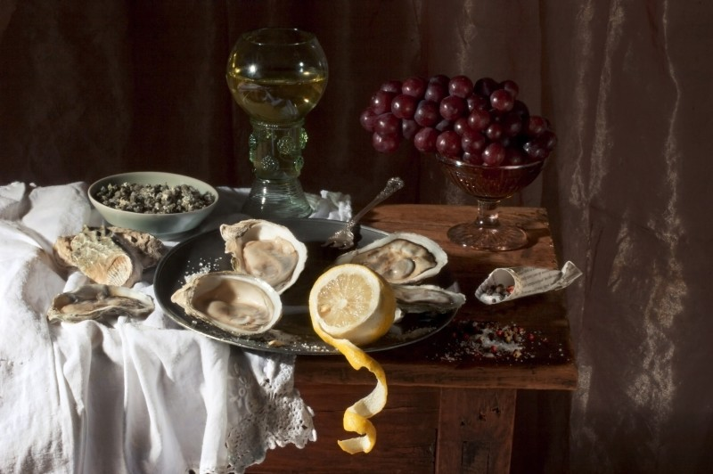 Paulette Tavormina, OYSTERS, AFTER W.C.H., 2008