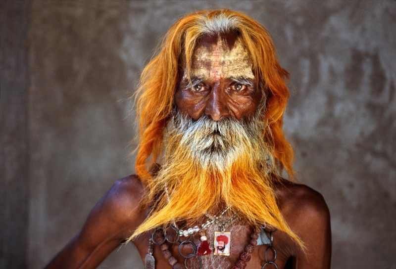 Steve McCurry, RABARI TRIBAL ELDER, RAJASTHAN, INDIA, 2010