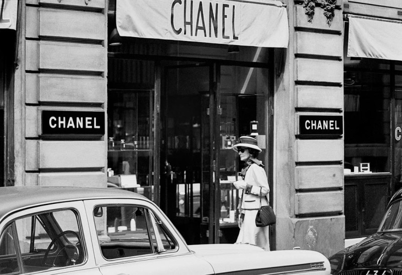 Douglas Kirkland, COCO CHANEL, PARIS, 1962