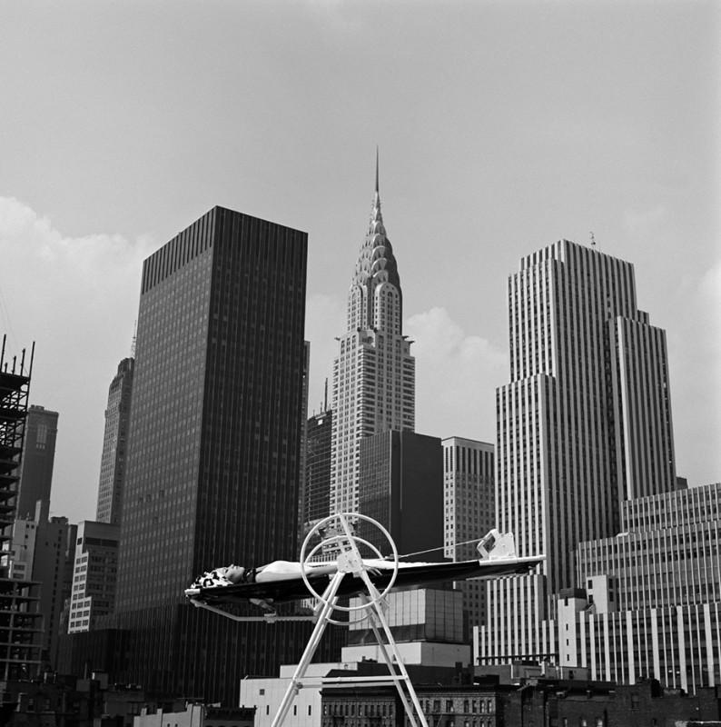 MELVIN SOKOLSKY, YOGA WHEEL, ANKHA HAHN, NEW YORK, 1961