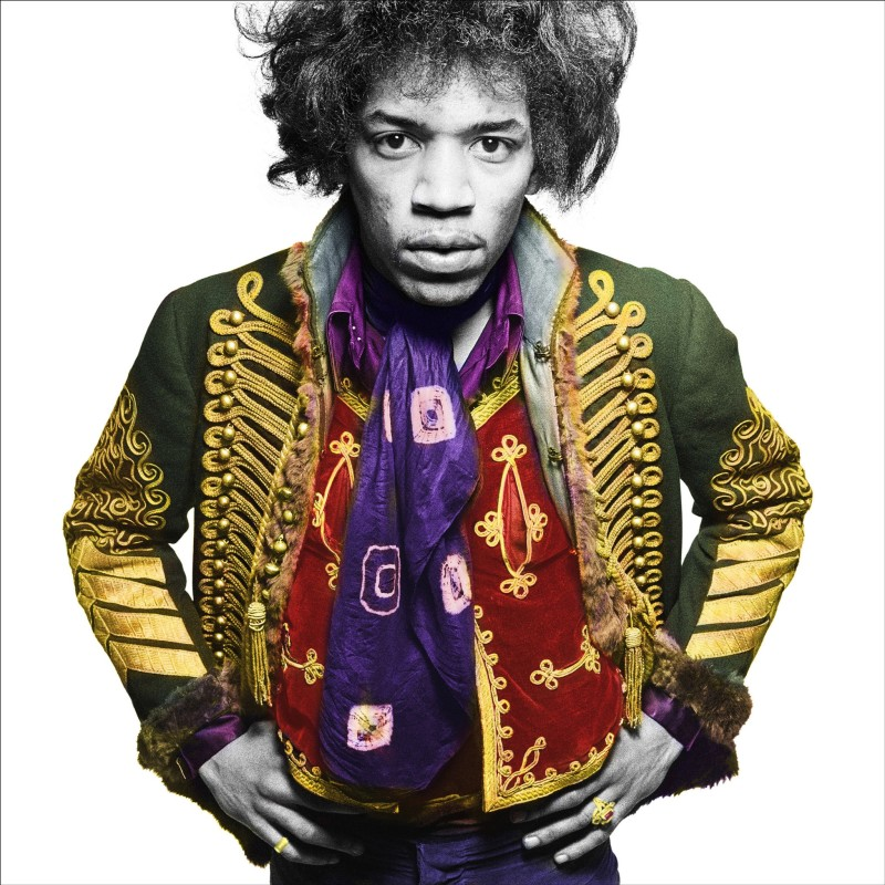 Gered Mankowitz, JIMI CLASSIC COLOUR, MASON'S YARD, LONDON, 1967