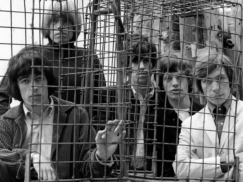 Gered Mankowitz, CAGED, ORMOND YARD, LONDON, 1965