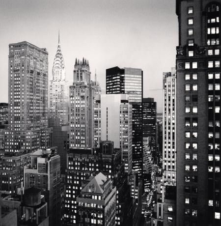 Michael Kenna, MIDTOWN TWILIGHT, NEW YORK, NEW YORK, USA, 2006