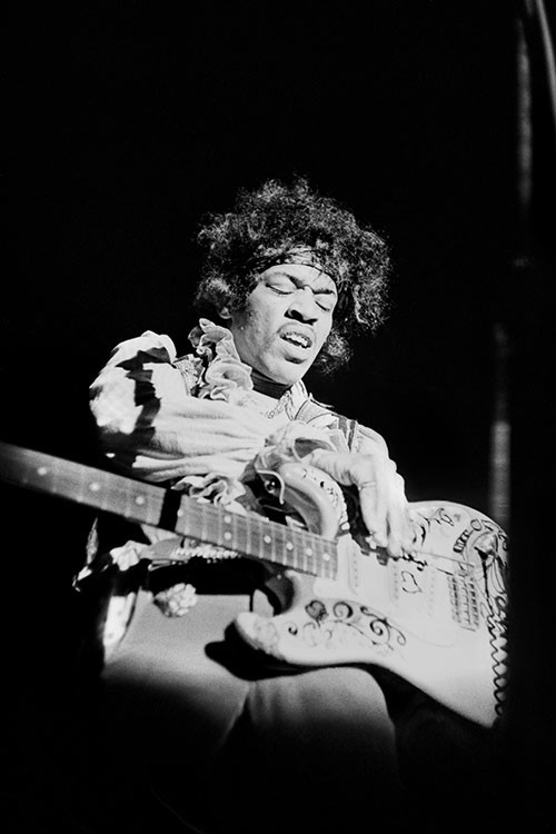 Ed Caraeff, JIMI HENDRIX, MONTEREY POP FESTIVAL, 1967
