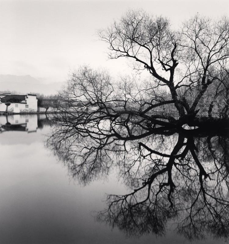 Michael Kenna, REFLECTED TREE, HONGKUN, ANHUI, CHINA, 2007